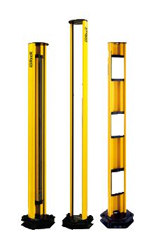 Колонны с отражающими зеркалами